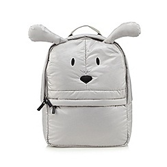 H! by Henry Holland - Designer grey novelty animal backpack