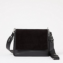H! by Henry Holland - Designer black novelty padded shopper bag