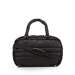 H! by Henry Holland - Designer black padded holdall