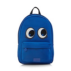 H! by Henry Holland - Designer bright blue monster backpack