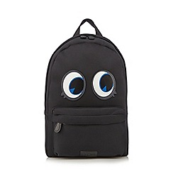 H! by Henry Holland - Designer black monster backpack