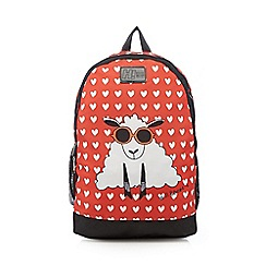 H! by Henry Holland - Red sheep heart backpack