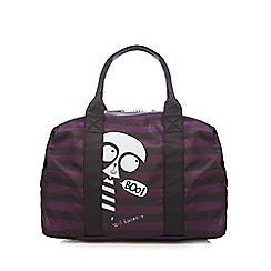 H! by Henry Holland - Purple striped panda holdall bag