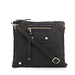 Call It Spring - Black 'Handing' cross body bag