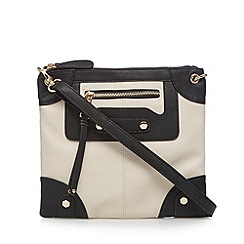 Call It Spring - Cream 'Handing' cross body bag