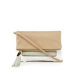 Call It Spring - White 'Irelan' clutch bag