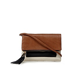 Call It Spring - Natural 'Irelan' clutch bag