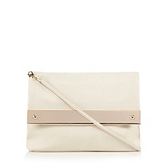 Call It Spring - Ivory 'Asotigo' clutch bag