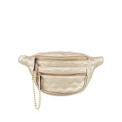 Call It Spring - Gold 'Gessert' bumbag