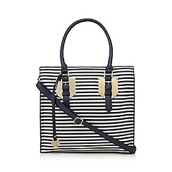 Call It Spring - Navy 'Janack' striped shoulder bag
