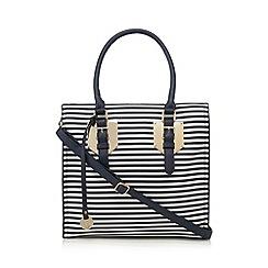 Call It Spring - Navy 'Janack' striped shoulder bag