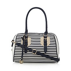 Call It Spring - Navy 'Austelle' striped grab bag