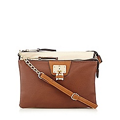 Call It Spring - Tan 'Landreneau' cross body bag