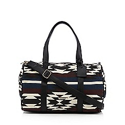 Call It Spring - Black 'Sourtop' weekender bag