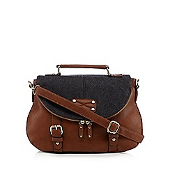 Call It Spring - Tan 'Golorilla' cross body bag
