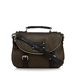 Call It Spring - Khaki 'Savigno' satchel bag