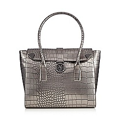 Versace Jeans - Silver croc tote bag