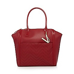 Versace Jeans - Red charm tote bag