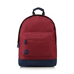 Mi-Pac - Dark red backpack