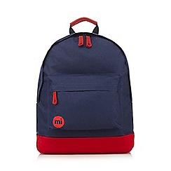 Mi-Pac - Navy canvas backpack