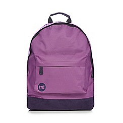 Mi-Pac - Purple canvas backpack