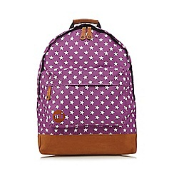 Mi-Pac - Purple star backpack