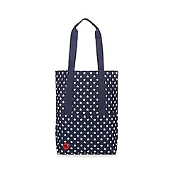 Mi-Pac - Navy star print tote bag