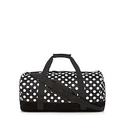 Mi-Pac - Black polka dot duffle bag