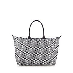 Mi-Pac - Grey links print weekender bag