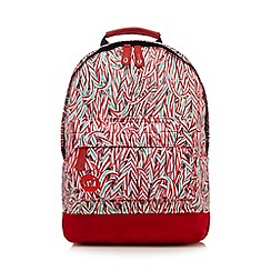 Mi-Pac - Red candy cane print backpack