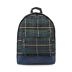 Mi-Pac - Black tartan backpack