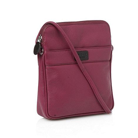 O.S.P OSPREY - Strasbourg purple cross-body bag