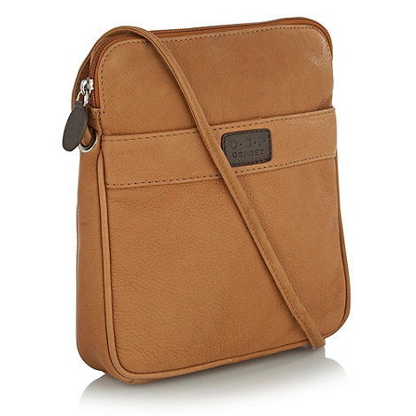 O.S.P OSPREY - Strasbourg nappa leather cross-body bag