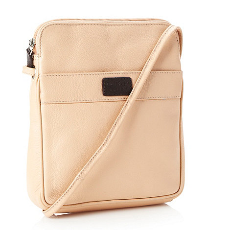 O.S.P OSPREY - Natural grained leather cross body bag