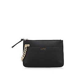Lipsy - Black chain clutch bag