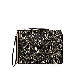 Lipsy - Black lace clutch bag