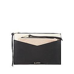 Lipsy - Black pouch clutch bag
