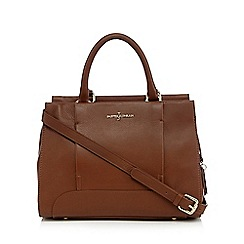 J by Jasper Conran - Tan leather small grab bag