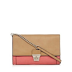 J by Jasper Conran - Colour block clutch bag