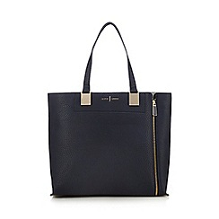 J by Jasper Conran - Navy colour block shoulder bag