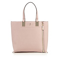 J by Jasper Conran - Pink colour block small grab bag