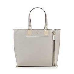 J by Jasper Conran - Grey colour block small grab bag