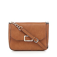 J by Jasper Conran - Tan cross body bag