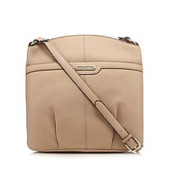 J by Jasper Conran - Light pink leather cross body bag