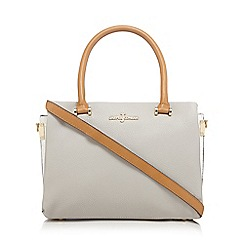 J by Jasper Conran - Grey colour block grab bag