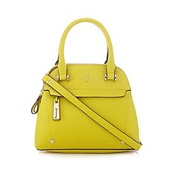 J by Jasper Conran - Lime three compartment dome bag