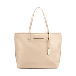 J by Jasper Conran - Beige leather shopper bag