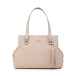 J by Jasper Conran - Light pink tasselled shoulder bag