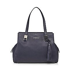 J by Jasper Conran - Navy tasselled shoulder bag