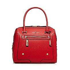J by Jasper Conran - Red grained grab bag